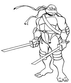 Craftoholic: Teenage Mutant Ninja Turtles Coloring Pages and a ...