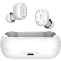Castile stereo wireless QCY T1 cu bluetooth 5.0 au autonomie pana la 4 ore. Ofera calitate ridicata atunci cand vrei sa vezi un film si dorm copii sau cand ai chef sa te joci pe playstation sau pe calculator si nu vrei sa deranjezi. Refurbished Phones, Music Headphones, Gadget Gifts, Gadgets And Gizmos, Mobile Accessories, Bluetooth Headphones, Film, Headset, Calculator