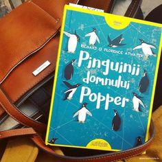 Pinguinii domnului Popper - Richard și Florence Atwater, Editura Arthur ISBN 978-606-788-029-8 Classic, Cover, Books, Livros, Book, Libri