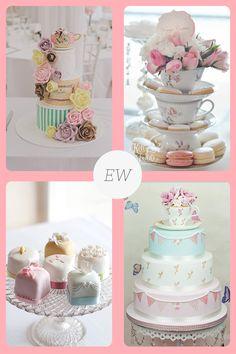 tea wedding on the Everything Wedding Blog