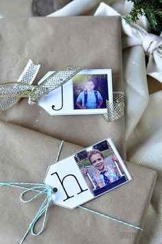 Adorable printable gift tags- perfect for the holidays from www.thirtyhandmadedays.com