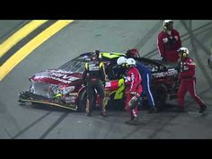 An early wreck during the 2013 Sprint Unlimited race claims several drivers including  Kyle Busch, Jeff Gordon, Jimmie Johnson, Denny Hamlin and Mark Martin.