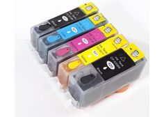 #CakeDecorating #Shop Complete Set Of 5 #Edible #Ink #Cartridges for #Canon #MP630 none refillable  http://www.mycakedecoratingshop.co.uk/edible-printing-shop/edible-ink-cartridges/complete-set-of-5-edible-ink-cartridges-for-canon-mp630