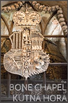 Looking for someting a little off beat to do when you visit Prague? Take a day trip out to Kutná Hora and see The Bone Chapel there! | Submerged Oaks