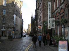 Edinburgh, Scotland. I want to visit my homeland.