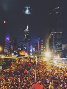 HK umbrella revolution