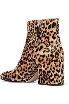 Sam Edelman - Taye Leopard-print Calf Hair Ankle Boots - Leopard print - US6.5