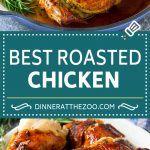 Best Roasted Chicken, Roast Chicken Recipes, Perfect Baked Chicken Breast, Keto Recipes, Dinner Recipes, Herb Butter, Slow Cooker Chicken, Rotisserie Chicken, Food Ideas