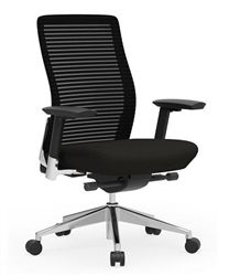 The all new Eon series user friendly ergonomic mesh back office chair from Cherryman Industries is an absolute bargain buy at just $245.00.