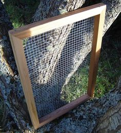 Garden Supplies Compost Sifter from Repurposed by andrewsreclaimed, $63.00