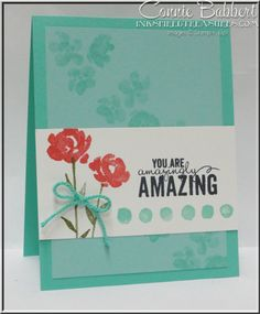 For Day 3 of PREVIEW WEEK on Create with Connie and Mary, I used Painted Petals, flowers, CAS, Stampin' Up!, #stampinup, Connie Babbert, www.inkspiredtreasures.com
