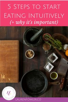 5 Steps to Start Intuitive Eating by Listening to your Body // deliciousobsessions.com