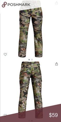 c8fa0ca6ab128 Under Armour Boy Forest Camo Field Hunting Pants UNDER ARMOUR UA FOREST CAMO  UA FIELD HUNTING