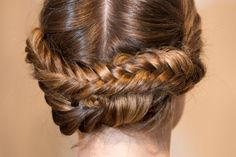 gorgeous hair from the christian siriano show.