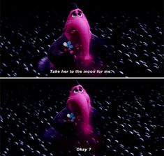 Bing Bong, Inside Out 21 Heartbreaking TV And Movie Deaths You're Probably Still Not Over Saddest Disney Moments, Sad Disney Quotes, Frases Disney, Disney Amor, Disney Love, Disney Magic, Pixar Quotes, Disney Disney, Disney Cruise