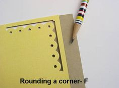 Tutorial - Threading Water Punch - how to punch around a corner and make a perfect scalloped square