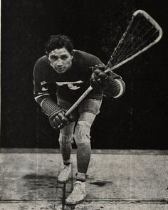 Harry J. Smith known as Jay Silverheels, played Tonto was a lacrosse star.