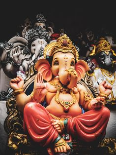 Ganpati Bappa Morya. Download this photo by Mohnish Landge on Unsplash