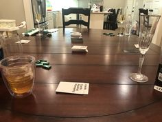 What New Years should look like. Champagne, bourbon, Cards Against Humanity and the ever important Andes mints. Andes Mints, Birmingham, Bourbon, Champagne, Cards Against Humanity, City, Bourbon Whiskey, City Drawing, Cities