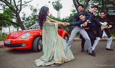 A Stellar Squad of Groomsmen - Fashion - Marriage Indian Wedding Poses, Indian Wedding Couple Photography, Pre Wedding Poses, Bridal Poses, Bridal Photoshoot, Couple Photography Poses, Wedding Shoot, Funny Wedding Poses, Bridal Photography
