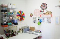 Casa de Pinterest | Medo da Pressa | Home office | Casa da Daisy http://medodapressa.com.br/casa-de-pinterest-6/