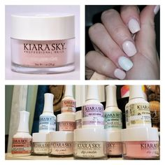 kiara sky dip powder get stronger lightweight and