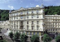 The Grand-Budapest Hotel = the Hotel Pupp, Karlovy Vary, in Carlsbad Grand Budapest Hotel, Grand Hotel, First Class Hotel, Hotel Reviews, Resort Spa, 5 Star Hotels, Czech Republic, Hotels And Resorts, Places To See