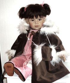 Lena von Sissel B. Skille Götz Künstlerpuppe mit Zertifikat! in Spielzeug, Puppen & Zubehör, Künstler-/ Handgemachte Puppen   eBay
