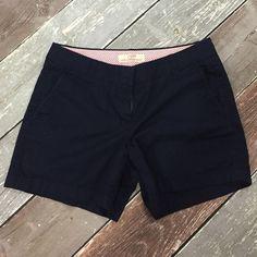 "J.Crew shorts EUC navy blue chino shorts. Super comfy! 4.5"" inseam. J. Crew Shorts"