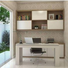 Top 30 Stunning Home Office Design Office Cabin Design, Small Office Design, Medical Office Design, Office Furniture Design, Small Room Design, Home Room Design, Office Interior Design, Office Interiors, Office Designs