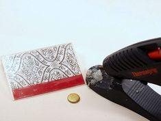 DIY Gift Card Holder from a Cassette Case - Mod Podge Rocks - #electroniccards - DIY Gift Card Holder from a Cassette Case - Mod Podge Rocks...