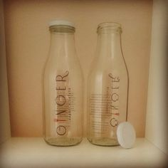 http://www.ginger.roma.it/  www.tappiebottiglie.it  #tappiebottiglie #ginger #milk #bottiglie #bottle #acqua  #water #personalizzate  #custom #label #design