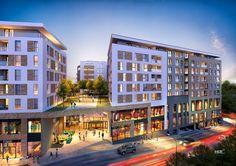 Platinia Shopping Center Cluj și-a deschis porțile Mix Use Building, Multi Story Building, Facade Design, Shopping Center, Urban Design, Lounge, The Unit, Luxury, Urbanism
