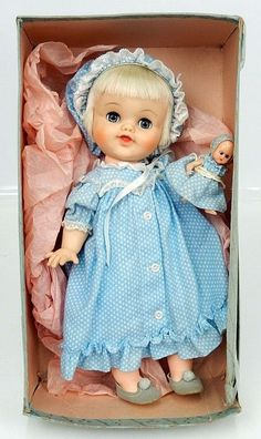 Vintage 50s Madame Alexander Smarty and her doll NEAR MINT in orig box