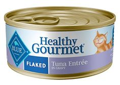 Blue Buffalo Healthy Gourmet Canned Cat Food, Flaked Tuna Entrée, (Pack of 24 3-Ounce Cans)