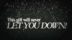 Glen Hansard - This Gift (Lyrics On Screen) For @aquileana who #gives SO MUCH OF HER #HEART XO