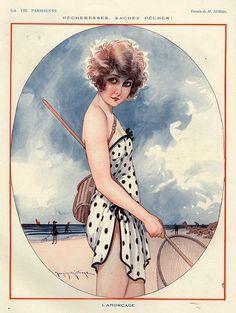 Ilustraciones del siglo XX de la revista francesa La Vie Parisienne