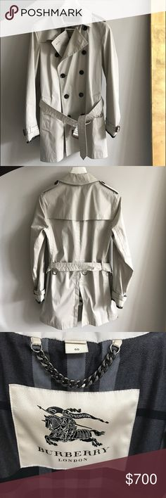 Burberry Men's Trench Coat Worn two times, excellent condition! Burberry Jackets & Coats Trench Coats