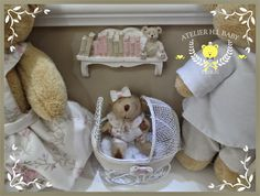 H.I.BABY : Enfeite de Maternidade de Menina