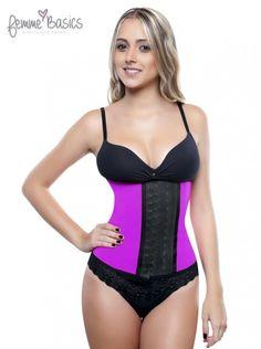 8bcb09c8b0 Femme Basics 2026 Sport Waist Trainer 2 Rows Hooks Shapewear Pink