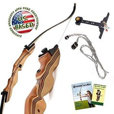 KESHES Takedown Hunting Recurve Bow and Arrow - 62 Archery Bow for Teens and Adults, Draw Weight - Right and Left Handed, Archery Set Bowstring Arrow Rest Stringer Tool Sight Archery Set, Archery Bows, Archery Hunting, Bow Hunting, Hunting Gear, Bow And Arrow Set, Takedown Recurve Bow, Recurve Bows
