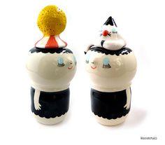 Ceramic Twins by Lili Scratchy