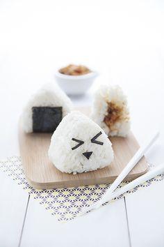 Des petits Onigiris pour manger sain en rigolant !