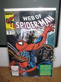 WEB OF SPIDER-MAN #53 AMAZING SPIDER-MAN MARVEL COMICS