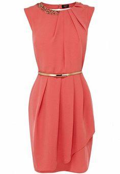 Oasis Paloma Embellished Dress