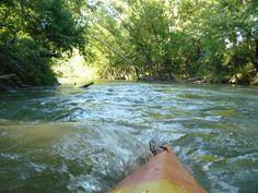 Kayakaing on the Illinois River 9-11-2010