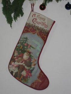 Gift sokken ( rode onderkant kant )