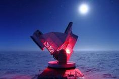 Honing in on Dark Energy & Neutrinos - Analysis of data from the 10-meter South Pole Telescope is providing new support for the most widely accepted explanation of dark energy — the source of the mysterious force that is responsible for the accelerating expansion of the universe.