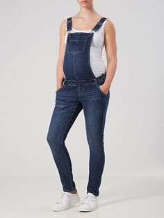 Overall maternity jeans from MAMALICIOUS.