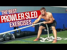 TOP 7 Prowler Sled Exercises for MAX Muscle & Power - YouTube